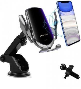 Suport de telefon pentru grila de ventilare cu alimentare wireless Elegance HS-R1